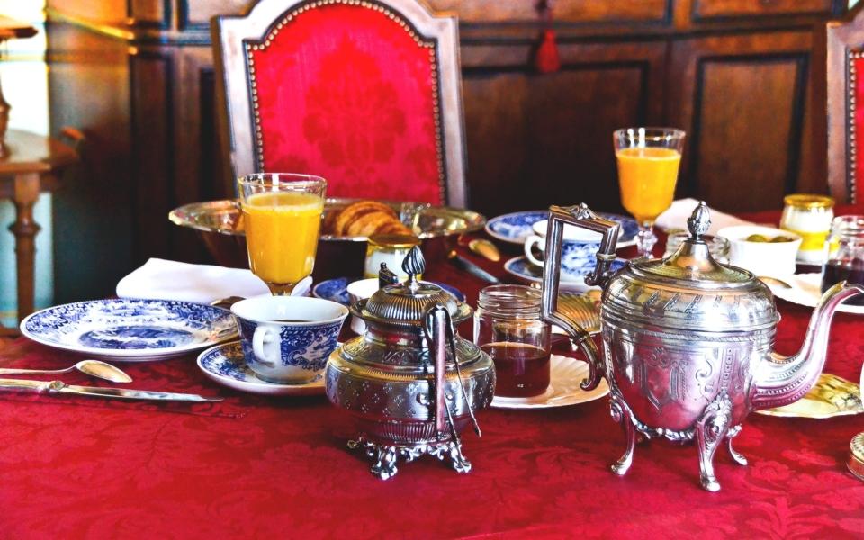 Petit déjeuner au chateau (3)