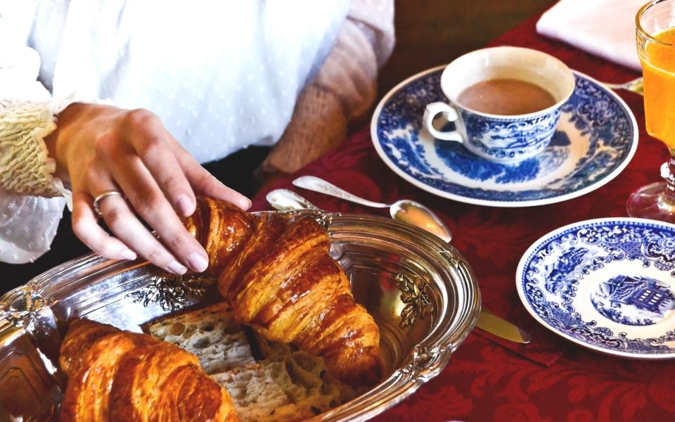 Petit déjeuner au chateau (4)