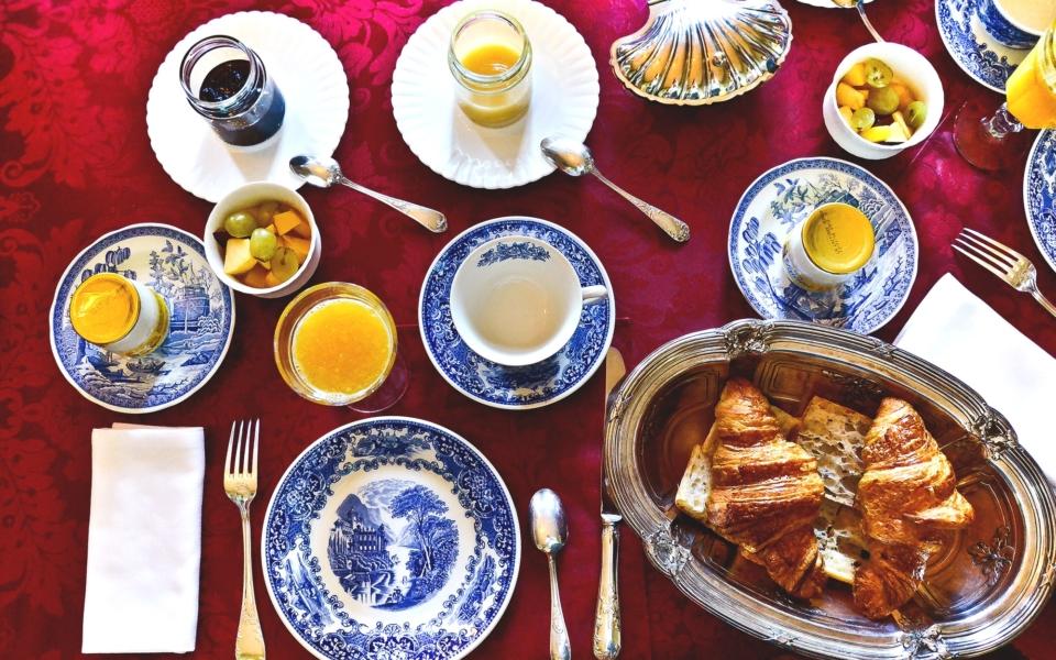Petit déjeuner au chateau (5)